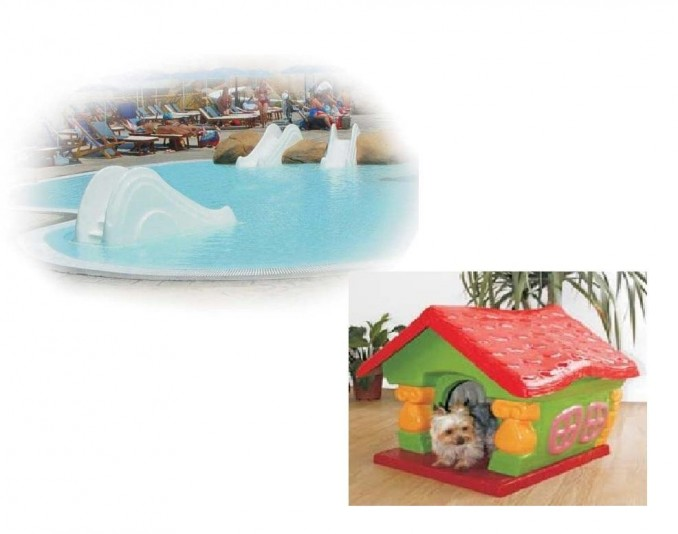 ELEMENTS FOR POOL AND PETS - RUBBER HORMISA